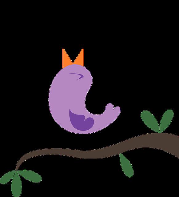 Sjungande fågel